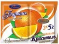 """Краситель сухой """"Украса"""" синтет.оранжевый 5 г(код 01560)"""