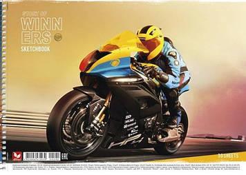 Альбом для малюв. на пруж. 30/120 A4 картон №PB-SC-030-290/Школярик/(9)(63)
