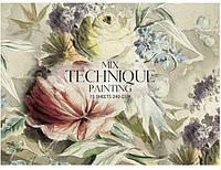 """Альбом для малюв. склейка 15арк. A5+ 240г/м """"Muse"""" Mix Technique №PB-GB-015-052/Школярик/"""
