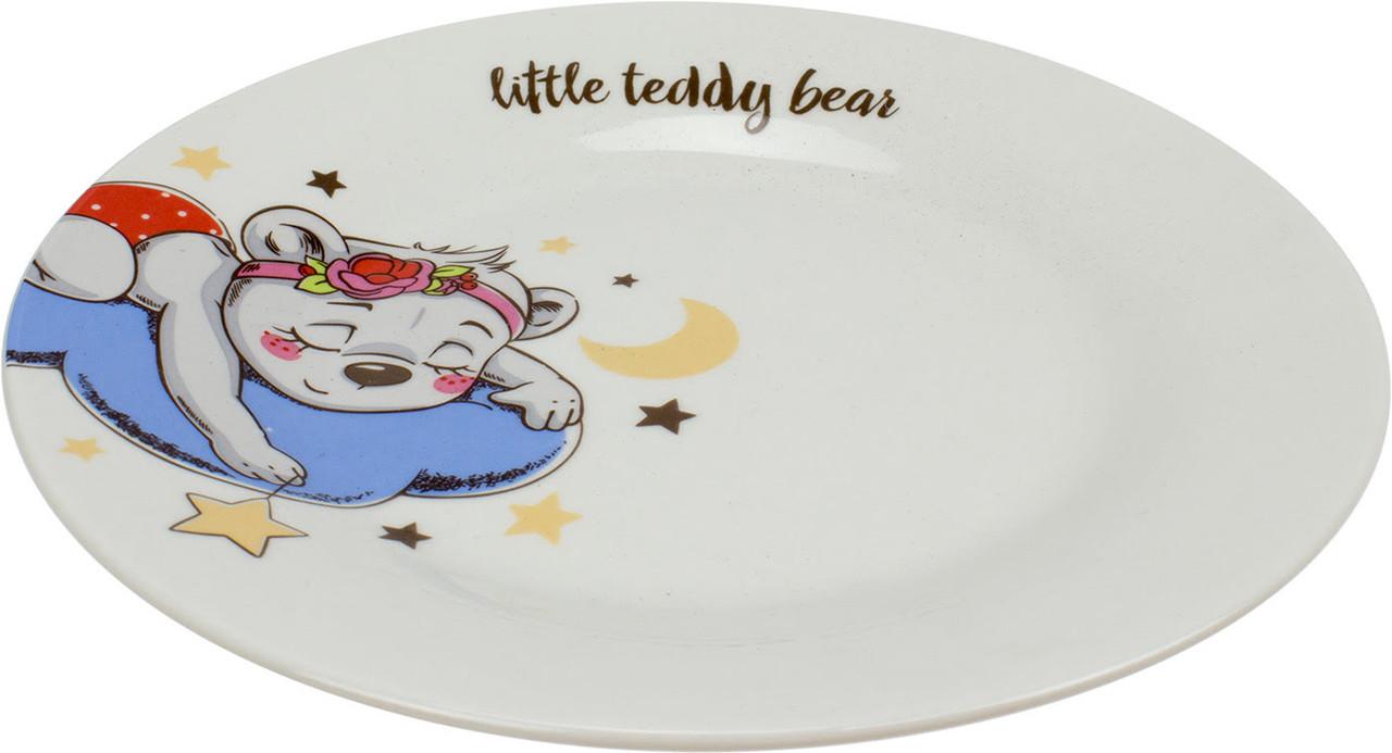 """Тарілка десертна керам. """"Little Teddy"""" 19см №75000552_М/Галерея/(12)"""