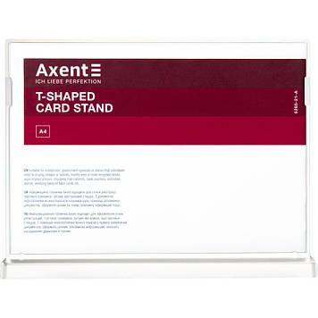 "Табличка інформаційна горизонтальна ""Axent"" А4 №6265-21-А біла"