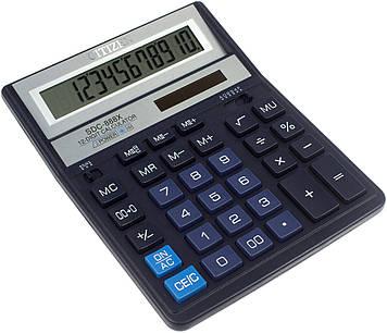 """Калькулятор """"Citizen"""" №SDC-888XBL сін. (12-розряд.)"""