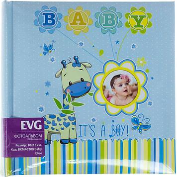 "Фотоальбом ""EVG"" №BKM46200/5807 10х15х200 Baby blue"