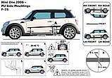 Молдинги на двері для Mini II R56 One 2006-2013, фото 5