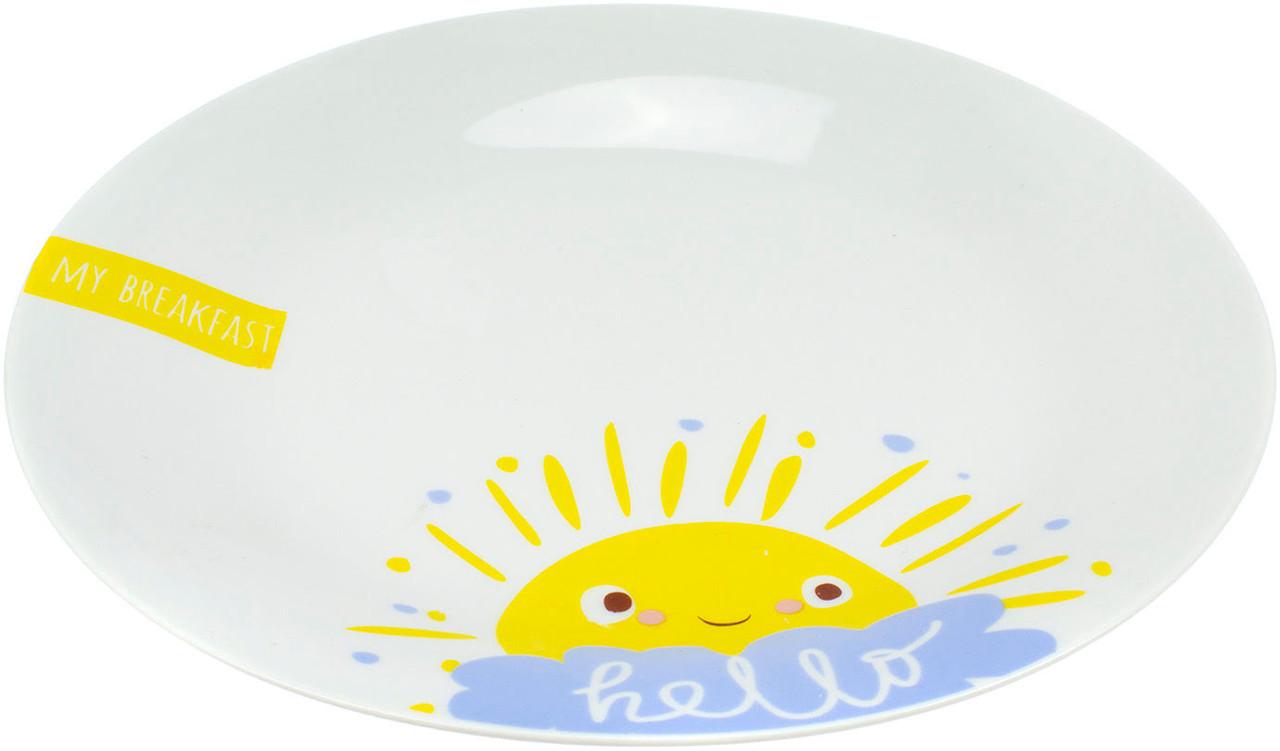 """Тарілка десертна керам. """"Breakfast"""" 19см №75000553_М/Галерея/(12)"""