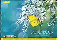 Альбом для малюв. на пруж. 30/120 A4 картон №PB-SC-030-270/Школярик/(9)(63)