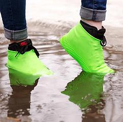 Многоразовые бахилы для обуви от дождя и грязи, размер M (37-41), цвета в ассортименте