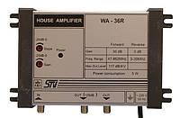 WA-36R (1 вход, 1 выход, усиление 30 дБ, выходной уровень 117дБ/мкВ, регулировки АЧХ/усиления)