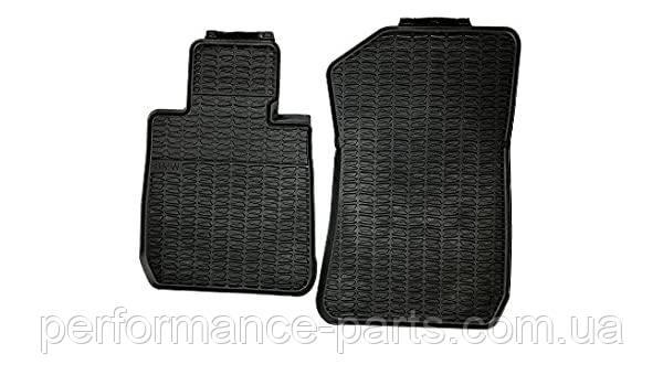 Коврики оригинальные для BMW X1 (E84 Xdrive) передние резиновые черные