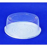 Упаковка для торта с крышкой из полистирола ПС-260,d=335мм,75шт/уп Pro Master арт.71930