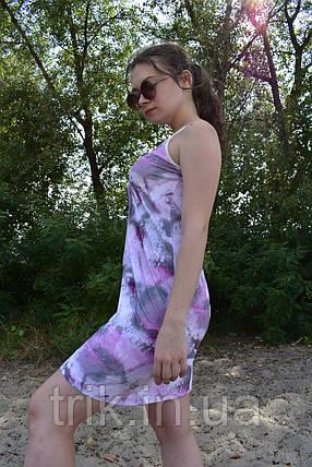 """Сарафан женский """"Шарм"""" расцветка в розовых тонах, фото 2"""