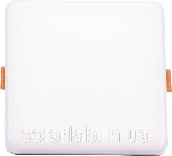Панель потолочная врезная LED V-TAC, 12W, SKU-730, Samsung CHIP, 230V, 3000К, квадратная, 120x120mm