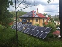 Солнечная сетевая электростанция 10 кВт под ключ