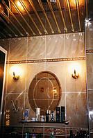 Потолки алюминиевые французский дизайн зеркальные