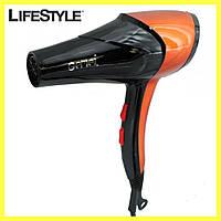 Профессиональный фен для волос Gemei GM 1766 2600 Вт / Маленький фен