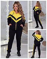 Спортивный костюм женский Турецкая двунитка Размер 48 50 52 54 56 58 В наличии 4 цвета