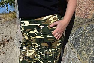 Штаны джоггеры цвет камуфляжный, фото 2