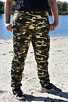 Штаны джоггеры цвет камуфляжный, фото 3