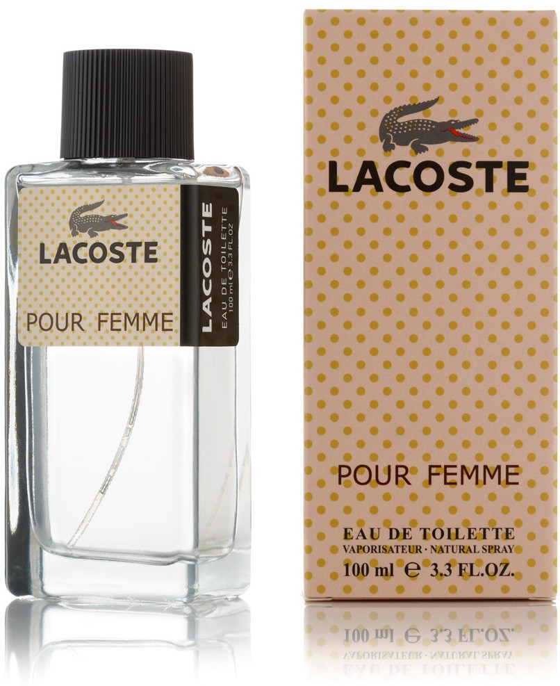 100 мл туалетная вода Lacoste Pour Femme - (Ж)