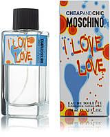 100 мл туалетна вода Moschino Cheap and Chic I Love Love - (Ж)