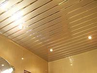 Реечные алюминиевые подвесные потолки Бард для ванной