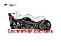 """Кровать-машинка Viorina-Deco """"Драйв"""". Гоночная кровать-машинка., фото 1"""