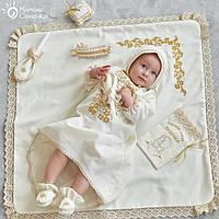 Полный комплект для крещения девочки №13