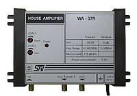 WA-37R (1 вход, 1 выход, усиление 36 дБ, выходной уровень 118дБ/мкВ, регулировки АЧХ/усиления)