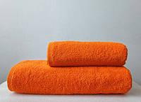 Полотенце махровое 500 Турция оранжевое 50х90 см