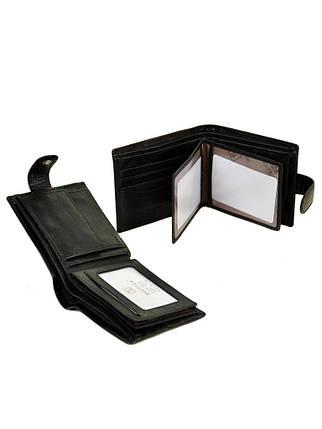 Кошелек Softina кожа BRETTON MS-27 black, фото 2