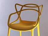 Стул Мастерс желтый пластик СДМ группа (бесплатная доставка), фото 4