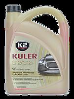 Жидкость охлаждающая K2 KULER LONG LIFE -35 °C красная 5 л (T205C)