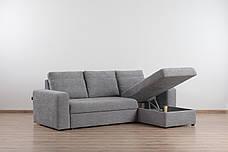 Угловой диван Филадельфия с отаманкой, выбор обивки, доставка, фото 3