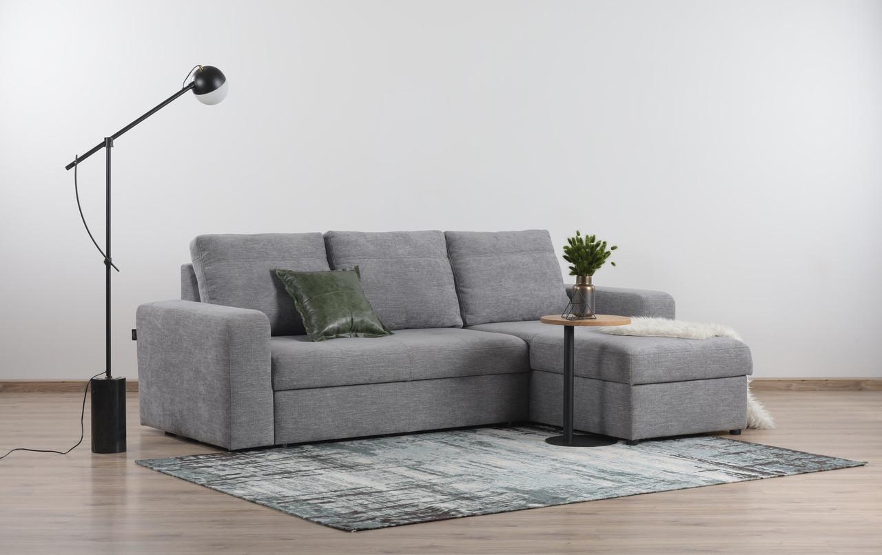 Угловой диван Филадельфия с отаманкой, выбор обивки, доставка
