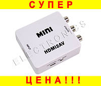 Конвертер HDMI to AV Composite RCA CVBS Video