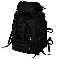 Рюкзак тактический 159-01 65 л, черный, фото 1