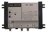WA-36RD (1 вход, 1 выход, усиление 30 дБ, выход. 117дБ/мкВ, регулировки АЧХ/усиления, дистанционное питание)
