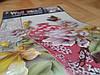 Объемная интерьерная виниловая наклейка на стену Ваза и бабочки, фото 4
