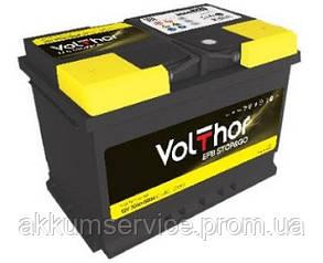 Акумулятор автомобільний VolThor EFB Stop&Go 80AH R+ 760A (512080)