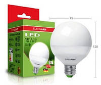 Лампа светодиодная EUROLAMP LED G95 15W E27