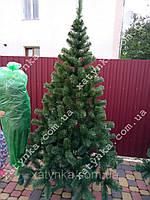 Ёлка зеленая исскуственная на новый год высота 2.2 м, фото 1
