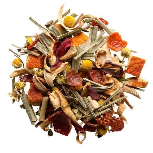 Чай из трав с шиповником, мятой, ромашкой, цедрой цитрусовых Альпийский метеорит Space Coffee 50 грамм