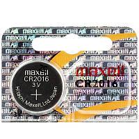 Батарейка Maxell CR2016 BL 1шт