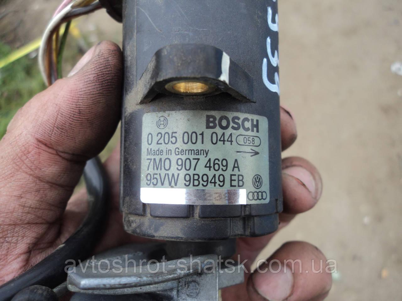 Б/У потенциомер газа  фольцваген шаран 1.0205001044