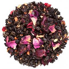 Зелений гранатовий чай з каркаде і пелюстками троянд Гранатовий зорепад Space Coffee 50 грам