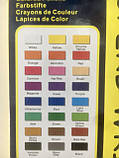 Карандаши цветные Marco Superb Writer 24 цвета для рисования и раскрашивания, фото 7
