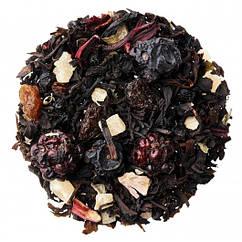 Чорний цейлонський чай з лісовими ягодами Ягідна гравітація Space Coffee 50 грам