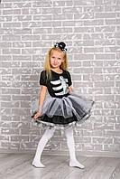 Детский карнавальный костюм Скелет для девочки