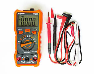 Richmeters RM113D Мультиметр автомат True RMS NCV 6000 отсчетов термопара фонарик магнит