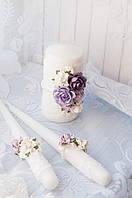 """Свадебные свечи """"Семейный очаг"""" (без подсвечников), фото 1"""